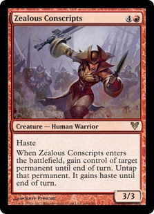 Zealous Conscripts