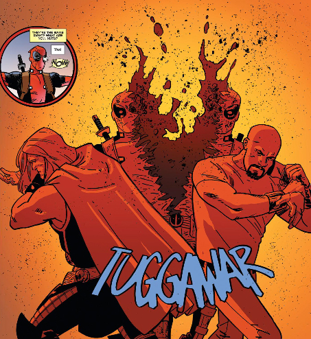 When Luke Cage (and Thor) Literally Ripped Deadpool in Half