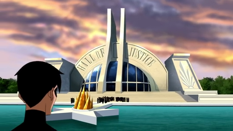 Hall of Justice from Young Justice